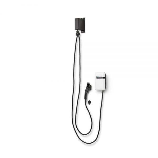 Wall Mount EvoCharge EVSE with Retractor