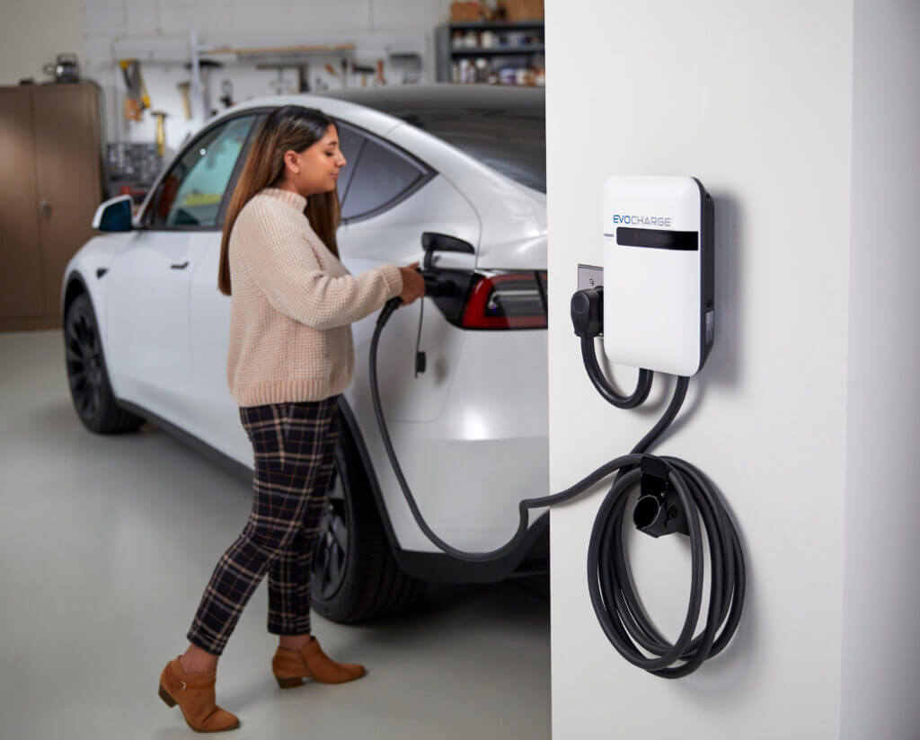 evocharge charging station